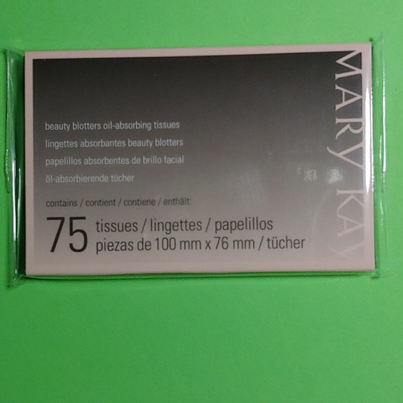 [mary kay] Beauty Glitters Oil-Absorbing Tissues